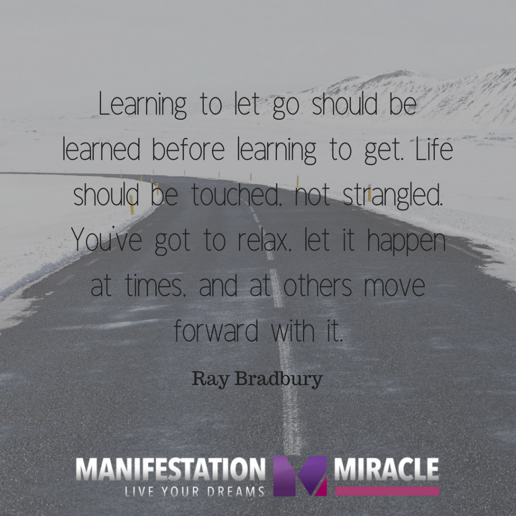 Quotes About Moving On And Letting Go: Manifestation Miracle