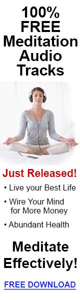 100% Free Meditation Audio Tracks